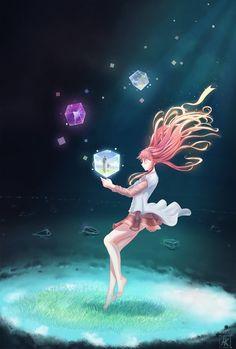 I'M not alone by tmiracle videos anime, me me me. Manga Drawing, Manga Art, Anime Manga, Loli Kawaii, Kawaii Anime, Anime Fantasy, Fantasy Art, Humour Geek, Anime Music