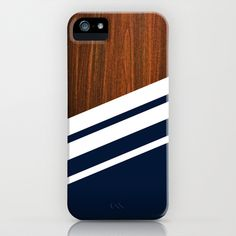 Wooden Navy iPhone & iPod Case by Nicklas Gustafsson - $35.00