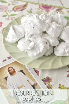 Resurrection Cookies - wonderful way to tell the Easter story.