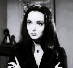 Morticia Addams... :) snap snap
