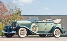 1933 Auburn Eight Salon Phaeton Sedan