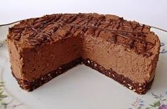 Citromhab: Csokitorta sütés nélkül Sweet Desserts, No Bake Desserts, Sweet Recipes, Delicious Desserts, Dessert Recipes, Baking Recipes, Cookie Recipes, Hungarian Desserts, Czech Recipes
