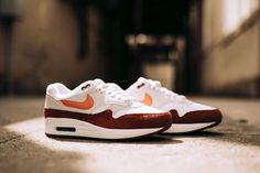 premium selection 6772f 82f70 Nike Air Max 1 in Vintage Coral Mars Stone