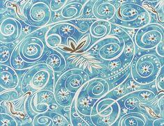 Textile Design, 'Arabesque' Elza Sunderland (Hungary, active United States, California, Los Angeles, 1903-1991) United States, California, circa 1943 Drawings Gouache on paper Sheet: 23 x 29 in. (58.4 x 73.7 cm); Composition: 13 1/16 x 16 3/4 in. (33.1 x 42.5 cm) Elza Sunderland Textile Design Collections | LACMA Collections