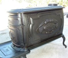 Electronics, Cars, Fashion, Collectibles, Coupons and Old Stove, Stove Oven, Antique Wood Stove, How To Antique Wood, Bar Saloon, Cast Iron Stove, Cooking Stove, Fire Places, Wood Burner