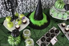 Girls Night Out Halloween Party Table by BellaGrey Designs