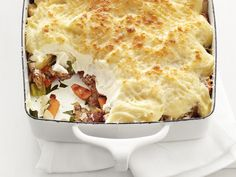 Vegetable Shepherd's Pie #FNMag #myplate #veggies #protein