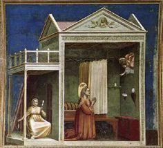 Fresco, 1304-06 Cappella Scrovegni (Arena Chapel), Padua. Giotto.