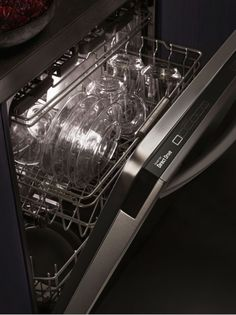 """LG 24"""" Fully Integrated Dishwasher with TrueSteam Generator, 15 Place Settings, 6 Cycles, Hidden SmoothTouch Controls and Finger-Resistant Finish, in Black Stainless Steel LDT9965BD at appliancesconnection.com. The LDT9965BD 24"""" fully integrated dishwasher delivers revolutionary cleaning performance without the hassle of prewashing. #steamwash #easyrack #easyloading"""