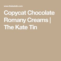 Copycat Chocolate Romany Creams - The Kate Tin Chocolate Coconut Cookies, Chocolate Filling, Eid Biscuits, Hot Cross Buns, Easter Treats, Doughnuts, Copycat, Nutella, Cake Recipes