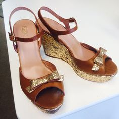 Sequin wedges By REDValentino, Sz. 40 (Sz. 10 US).