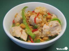 Hähnchen in pikanter Erdnusssauce | Cookarella – Rezepte, kreatives Kochen und mehr! ♥
