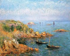 Gustave Loiseau - Seascape, the Bay of Douarnenez,1913