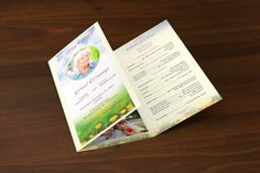 Baby Shower Program Template Child Funeral Program Templategodserv Designs  Graphics Print .