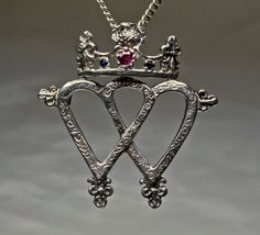 Traditional Scottish Luckenbooth Pendant / by postgatejewelers, $135.00
