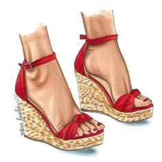 everyone needs fashion advice sometimes. This article will allow you with your shoes and select Fashion Illustration Shoes, Fashion Art, Fashion Shoes, Shoe Sketches, Fashion Design Sketches, Shoe Art, Types Of Shoes, Designer Shoes, Baskets