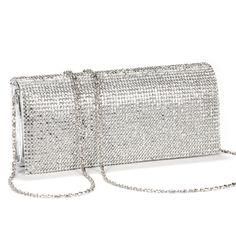 Luxus glitzer Damen Clutch Damentasche Abendtasche Party Hochzeit Handtasche Brauttasche mit Strass golden(pu Leder): Amazon.de: Bekleidung