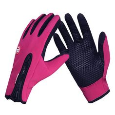 LOCLE Upgrade Cycling Gloves Racing Motorcycle Gloves Windproof Breathable Ciclismo Touch Screen Bike Bicycle Gloves Cycling