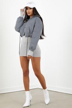 7a5d114c697 Sorella Grey Thermal Dress