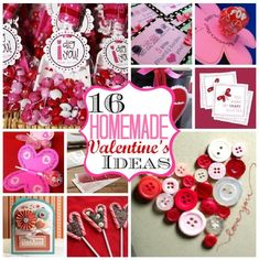 16 Homemade Valentine's Ideas | MyBlessedLife.net