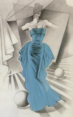George Stavrinos, Vintage 1950´s Dior evening gown