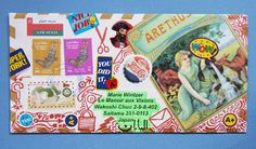 """Marie's Mail Box: """"Registered Mail"""" - Art Exhibition Leaflet from Mohammed Nidham"""