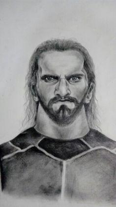 Seth Rollins Sketch By Shubham. J.