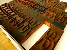 American Wood Type Collection is a must see—very cool set up.
