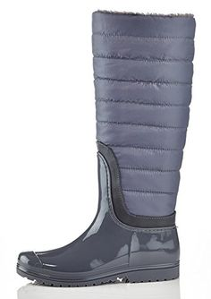 Henry Ferrera J200 Grey Ladies Tall SnowRain Boot 6 -- Check out this great product.