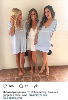 Bridesmaid tshirt pjs