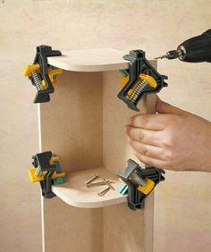 Bricolage Grip Outil Menuiserie Gadgets de serrage appareil métal Woodworking Clamp