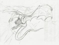 dragon sketch by ~dragoncharmerolivia on deviantART
