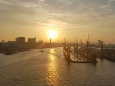 Hamburg Sonnenaufgang
