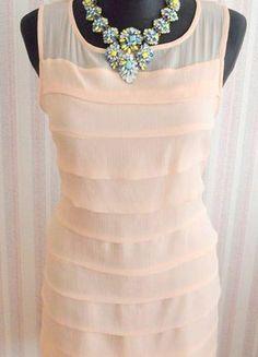 Įsigyk mano drabužį #Vinted http://www.vinted.lt/moteriski-drabuziai/vakarines-sukneles/17042116-stilinga-pastelines-rozines-spalvos-lengva-suknele