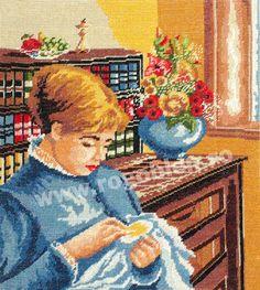 Cod produs Brodeza Culori: 27 Dimensiune: 17 x Pret: lei Stitch 2, Cross Stitch, Embroidery, Crochet, Painting, Grandchildren, Dolls, Tapestries, Figurative