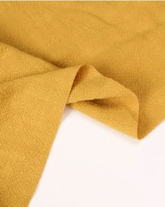 Stonewashed linen fabric in mustard. This natural fabric has a subtly textured weave, creating a heavier weight perfect for summer trousers, dungarees and jackets Dungarees, Linen Fabric, Mustard, Weave, Trousers, Pure Products, Natural, Summer, Jackets