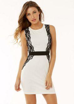 Katy Hourglass Lace Dress #AlloyApparel #MyAlloy