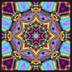 Caleidoscopio 1111 FFSC1 + DD05 0824 Kaleidoscope Images, Zentangle, Psychedelic Art, Fractal Art, Cool Eyes, Sacred Geometry, Trippy, Geometric Shapes, Jewelry Crafts