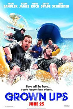 Probably it's not the best comedy movie outta there, but for some reason i found it the most touching one, Grown UPS :)