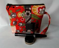 On Sale Cosmetic Bag Wristlet zippered pouch Make by MintChocolat Wristlet Wallet, Zipper Pouch, Cosmetic Bag, Christmas Gifts, Make Up, Cosmetics, Mugs, Trending Outfits, Unique Jewelry