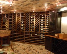 Wine Rooms by Stadler Custom Homes