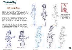 How to Draw Cartoon Body figures by celaoxxx on deviantART via PinCG.com