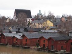 the old city of porvoo