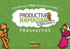 Click the image to download Productive Ramadan Online Course Prospectus