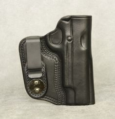 Inside the Waistband Leather Holster for full size 1911 (5 inch barrel). Holster comes in black or brown and has ambidextrous capability (left or right hand draw) $54.99 #holster #gunholster #concealedcarry #IWB #1911 Gun Holster, Leather Holster, Holsters, Concealed Carry, Barrel, How To Draw Hands, Satchel, Husband, Wallet