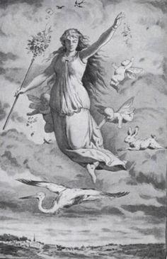 Ostara, or Easter - The goddess of spring