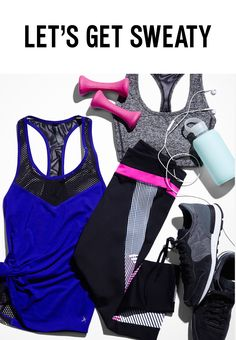 Getting your fitness goals back on track this summer? The EXP Core collection has everything you need to get outside of the gym and reach your goals. Start with compression leggings in your favorite pattern for an outdoor yoga class or a jog through the park. Layer a strappy sports bra that offers both style and support under a moisture-wicking tank that keeps you dry, even when you're working up a sweat. Add some new tunes to your workout playlist, and you'll be ready to take on training.