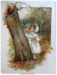 Harriet M. Bennett Squire Squirrel Nister & Dutton Publisher, NY and London 1895 in Art, Art from Dealers & Resellers, Prints | eBay
