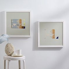 Alyson Fox Print - Forms Set | west elm $140