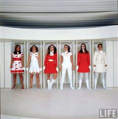 Back to the Future with Adre Courreges (1965)